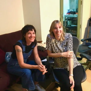 Jen Cloher and Anna Laverty